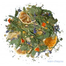 Имбирный чай с лимоном и травами