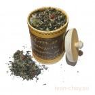 """Подарочный чай """"Разнотравье"""" в туеске 10х15см"""