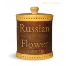 "Туес ""Russian herbal tea"" 10х15 см"
