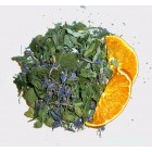 Зелёный чай с мятой и апельсином